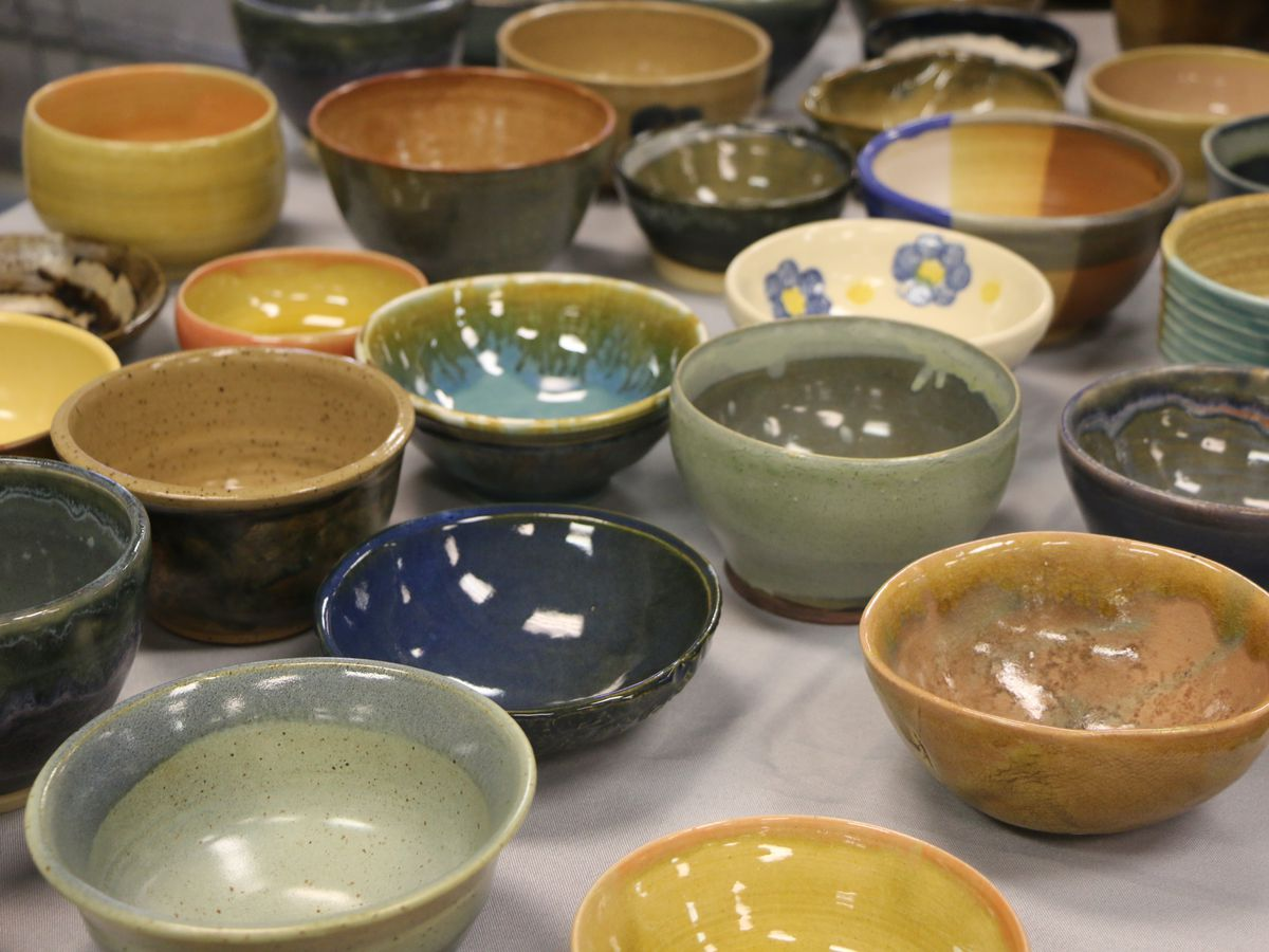 Fill up Empty Bowls at annual fundraiser that supports those who struggle with food insecurity
