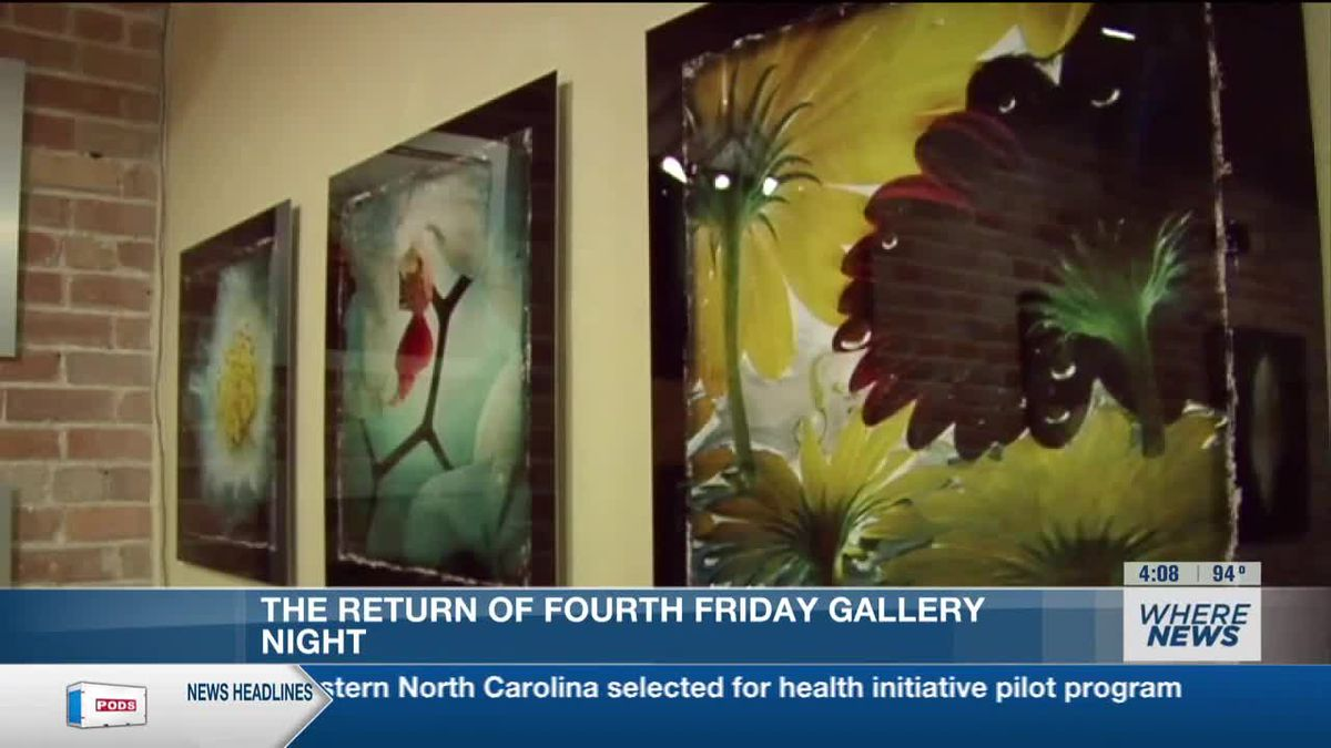 After long hiatus, Fourth Friday gallery nights return in downtown Wilmington