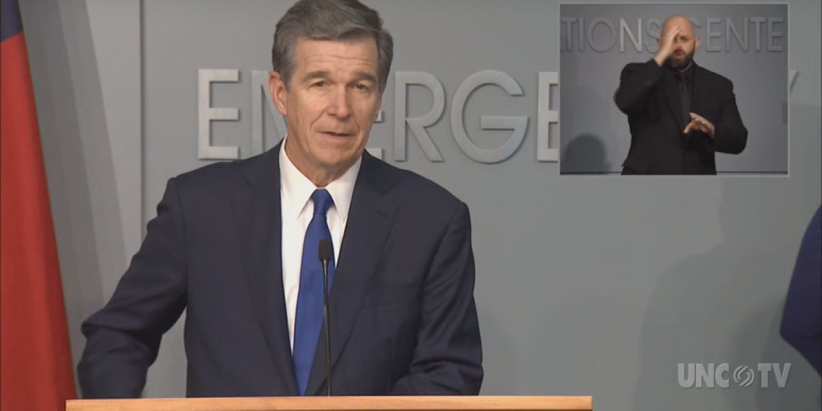 LIVE: Gov. Cooper, members of the Coronavirus Task Force to hold media briefing