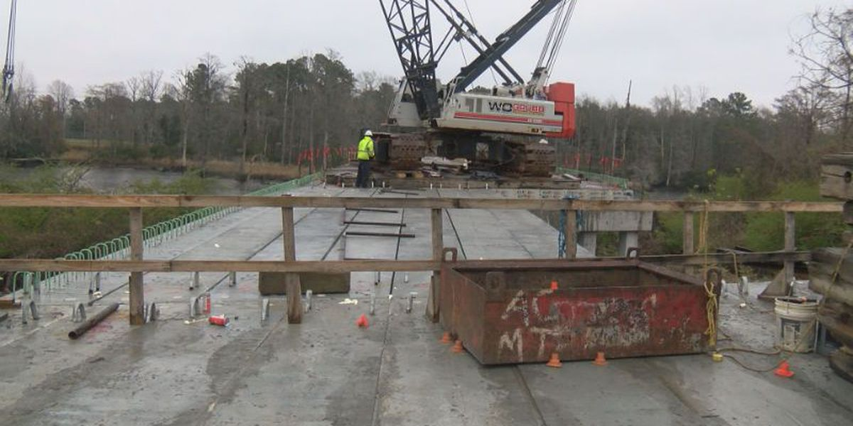 Love Grove bridge project nearing completion