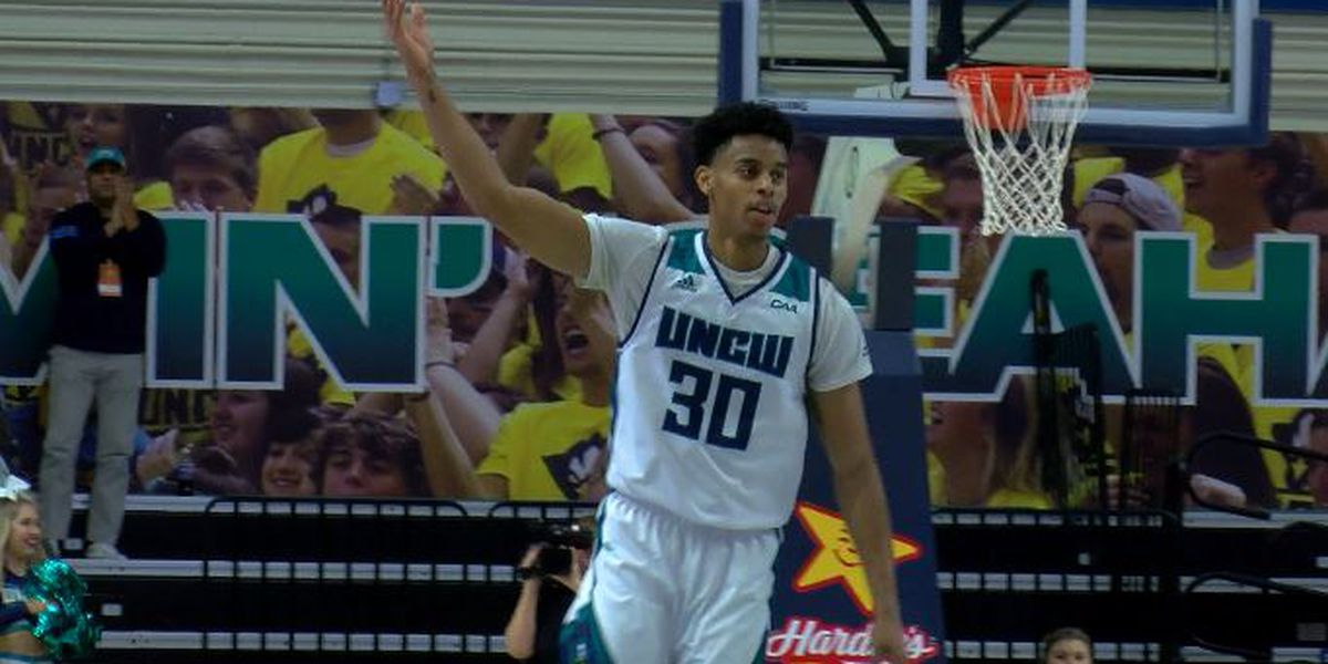 UNCW's Jaylen Sims named CAA player of the week
