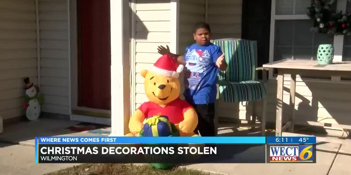Community rallies to help replace family's stolen Christmas decorations
