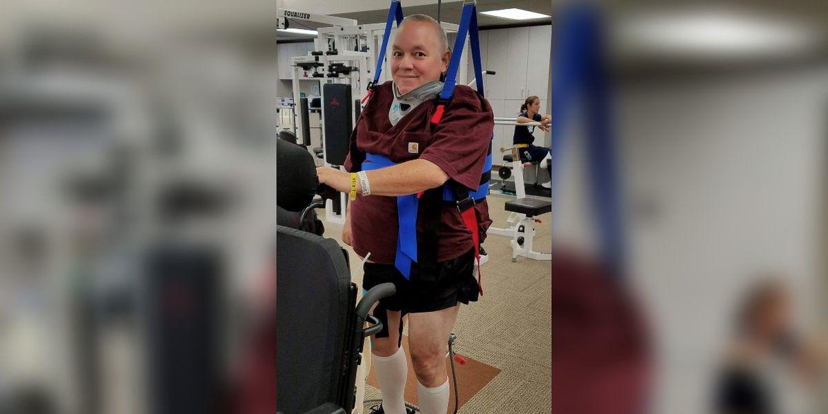 Motorcycle crash survivor mentors other spinal cord injury victims