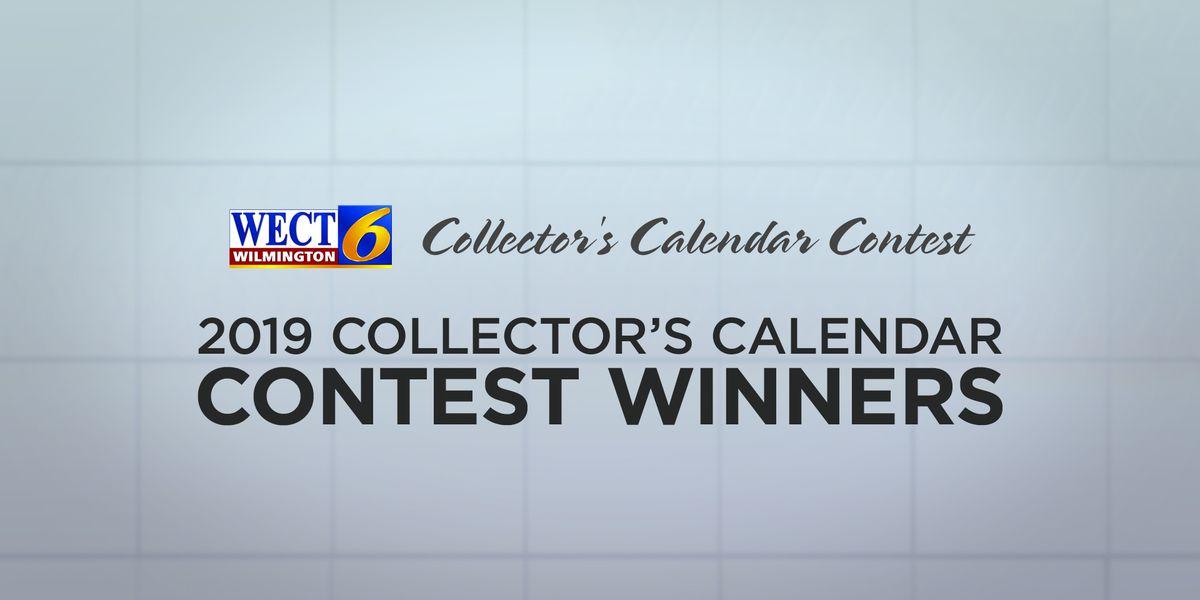 WECT 2019 Collector's Calendar Winners