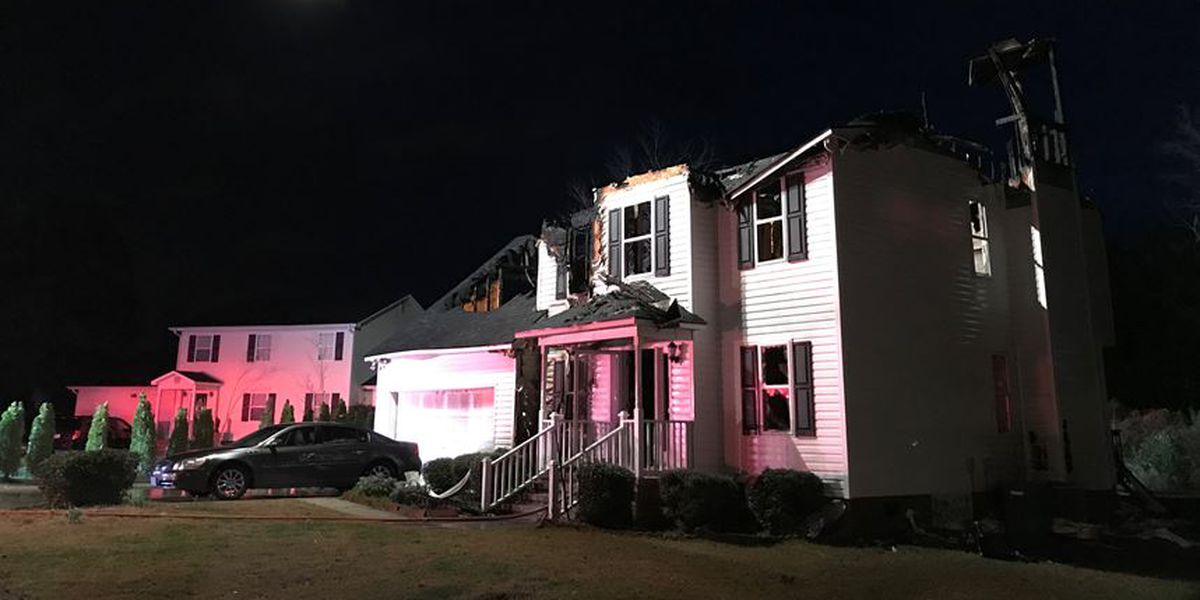 House fire in New Hanover County likely storm-related