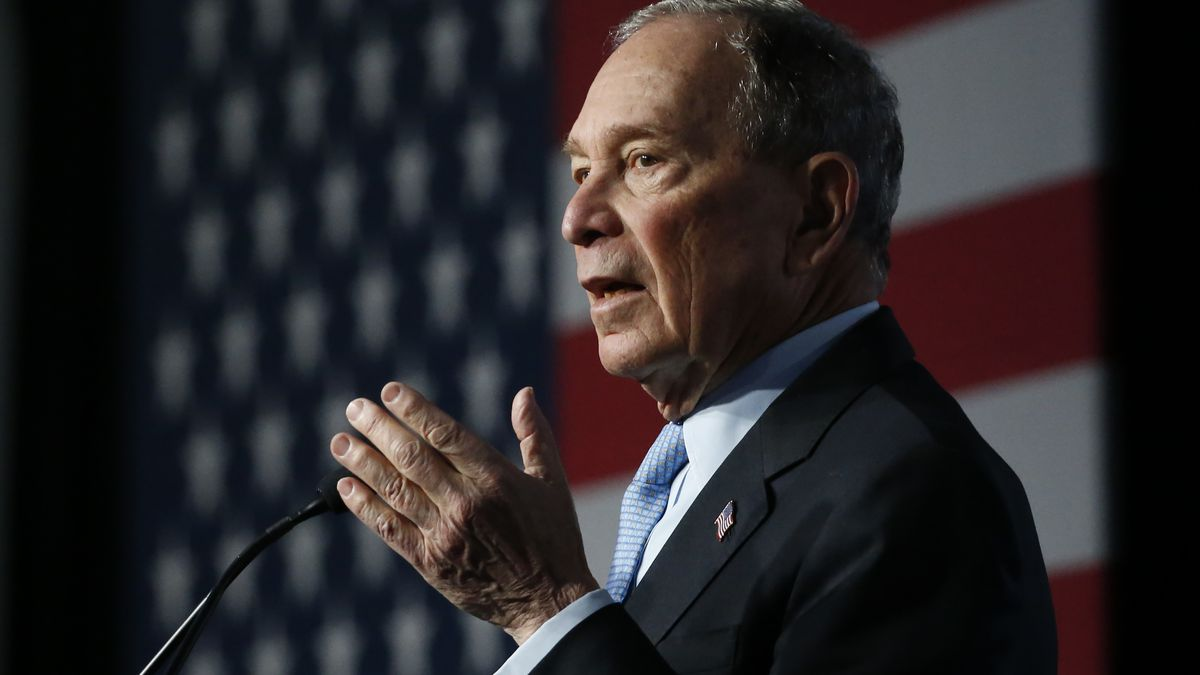 Presidential candidate Mike Bloomberg announces Wilmington rally