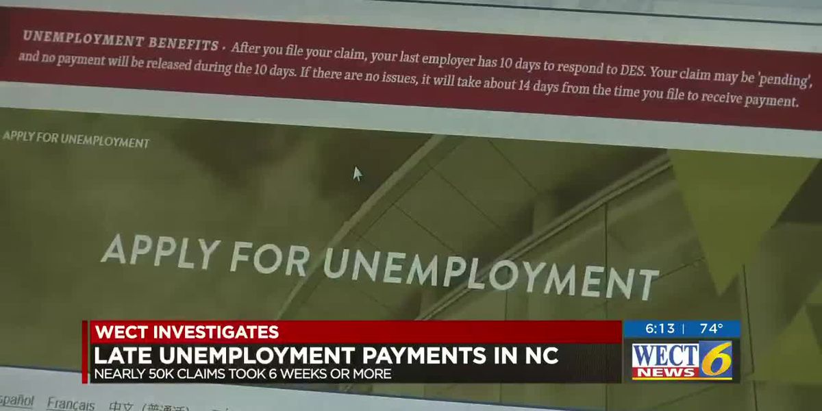 Why unemployment benefits were delayed for many