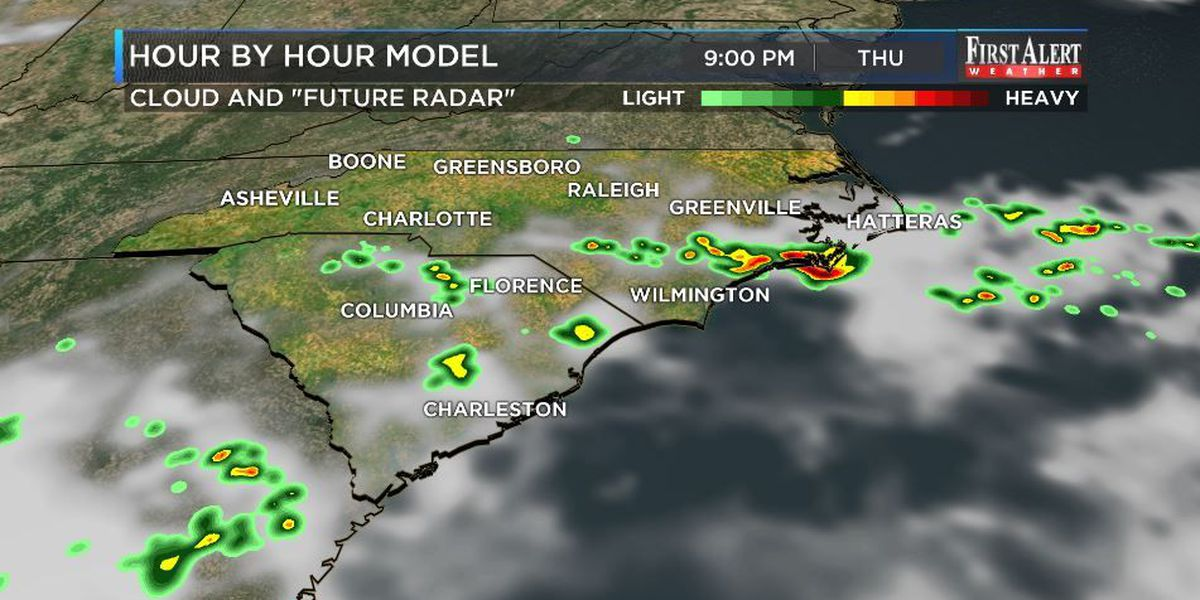 First Alert Forecast: summery warmth and humidity to fuel a few storms
