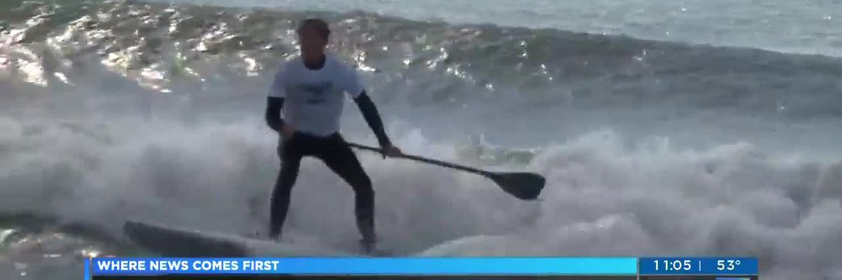 Paddle boarding tournament makes a splash in Wrightsville Beach
