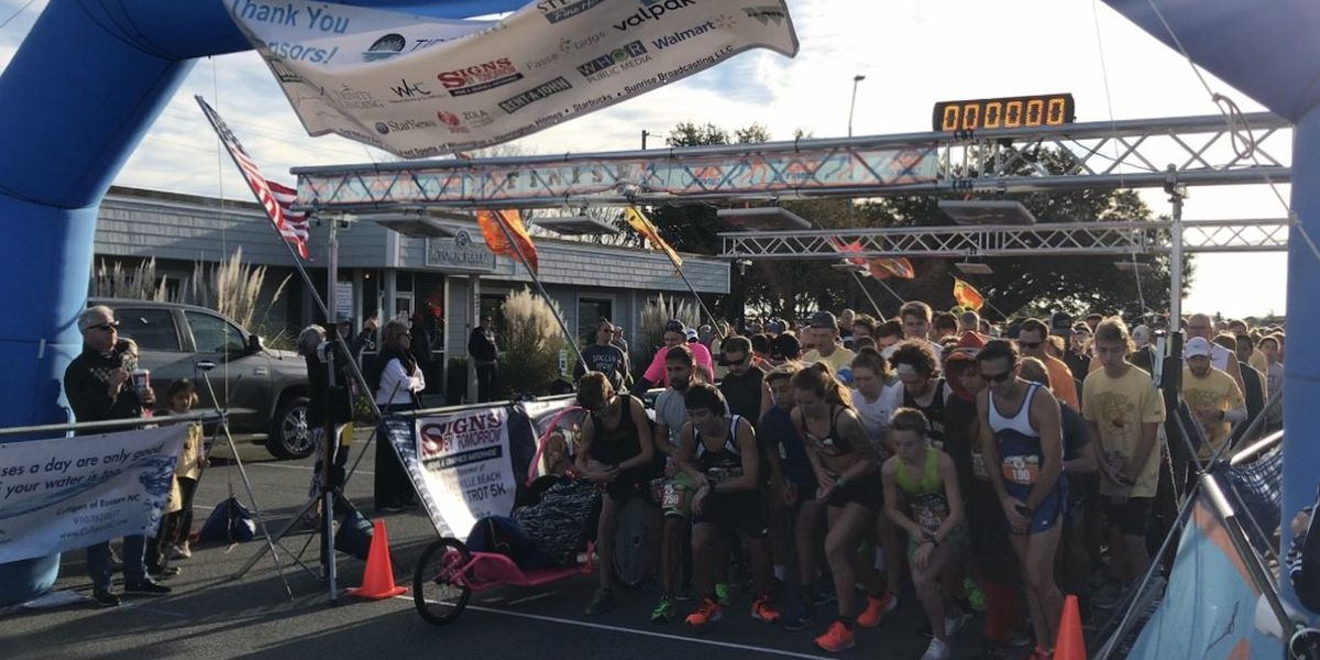 Record number of entries for 2019 Wrightsville Beach Turkey Trot