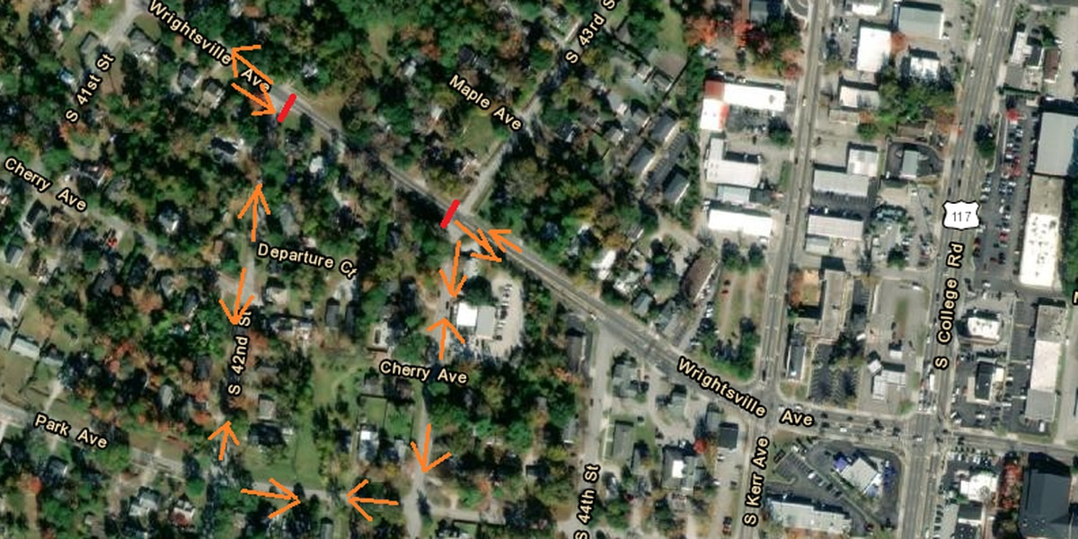 Section of Wrightsville Avenue closes for sewer repair