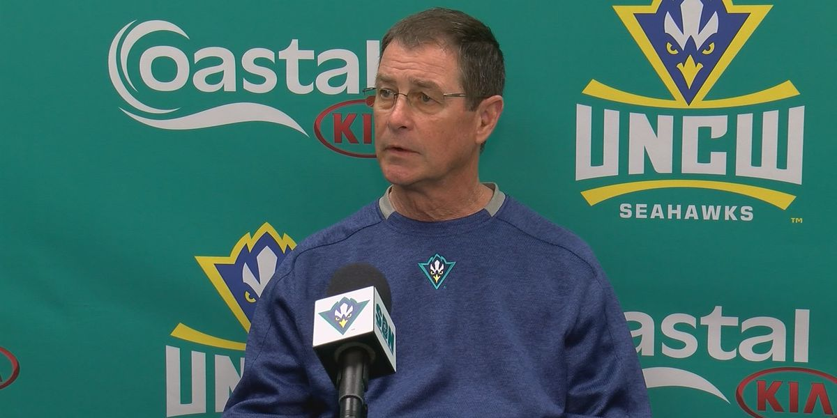 'I'm going to take it easy for awhile': UNCW's Scalf opens up about his pending retirement