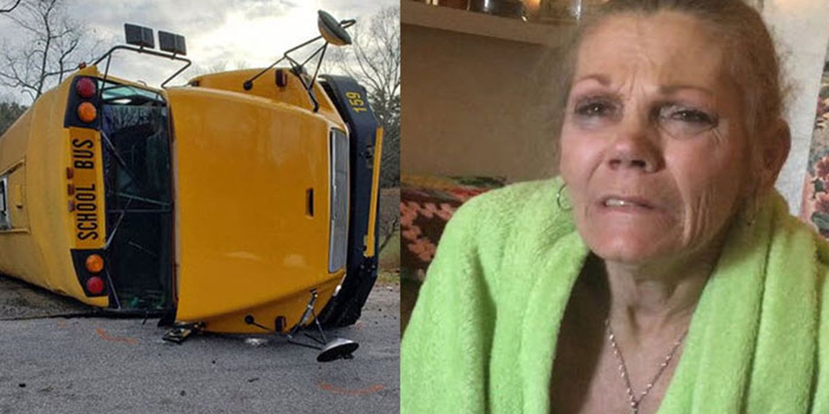 Woman facing child abuse charges, DWI after school bus crash