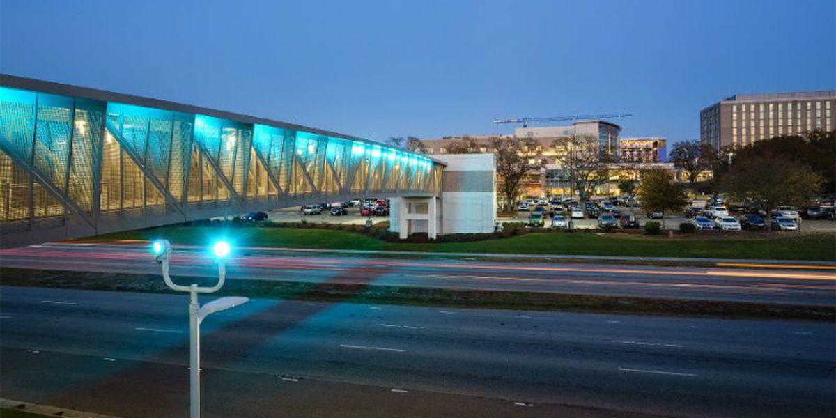NHRMC parking deck, walkway officially open