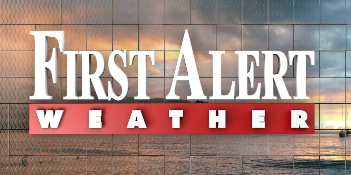 First Alert Forecast: cooler, dryer air moves in by tomorrow