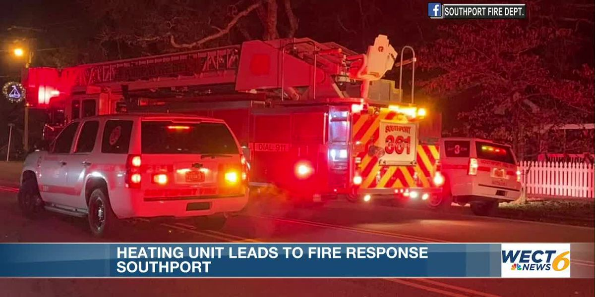 Fire department gives safety tips as heating units can lead to fires