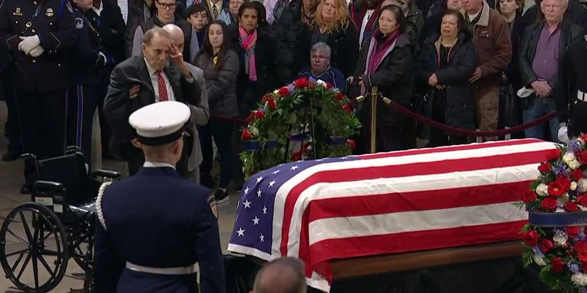 Happening Now Funeral Service For President George H W Bush