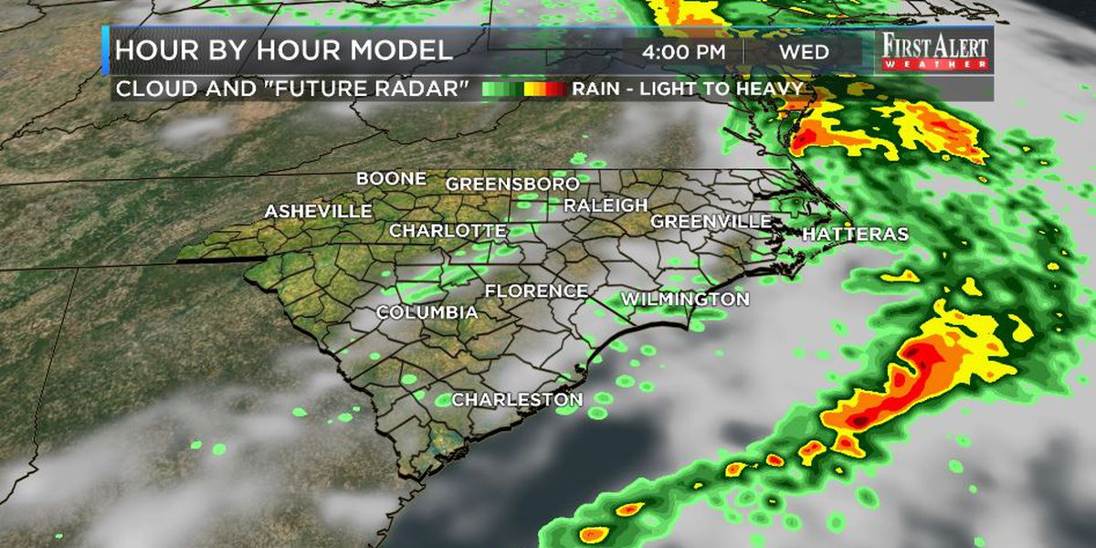 First Alert Forecast: rainy to chilly