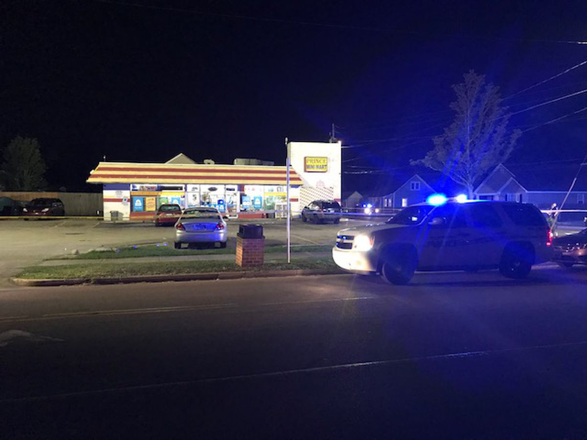 At least a dozen shots fired, two people hospitalized in incident at Prince Mini Mart