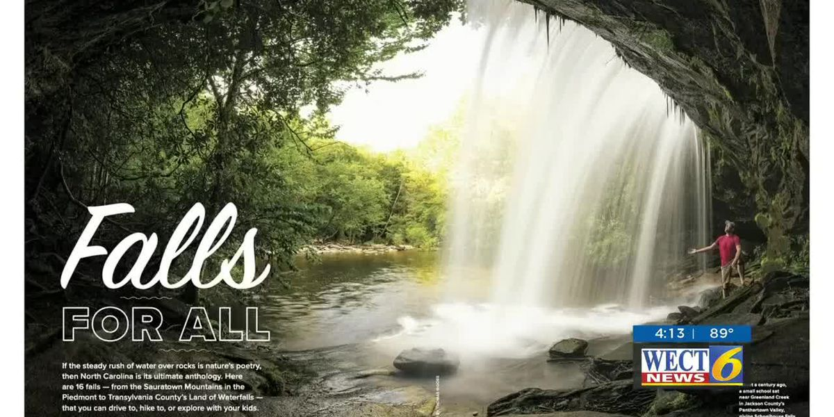 Find North Carolina's best waterfalls and swimming holes in this month's 'Our State'