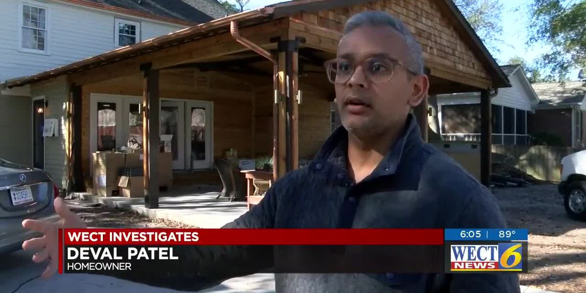Man finds contractor he hired was operating without license