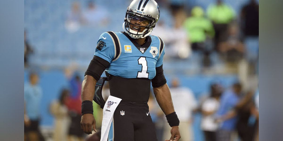 Carolina Panthers release QB, former MVP Cam Newton after nine years