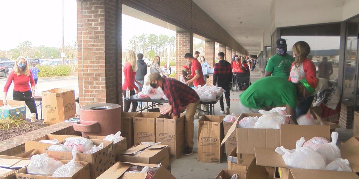 Cape Fear Volunteer Center coordinates 1,200 meal deliveries
