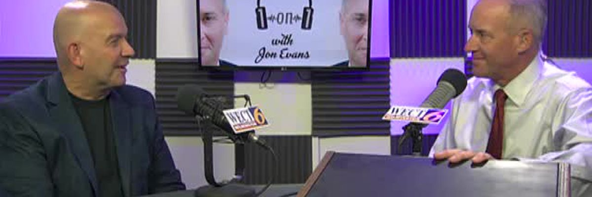 "Damian Brezinski, cardiologist and founder of ""Keep the Beat Alive"", is on ""1on1 with Jon Evans"""