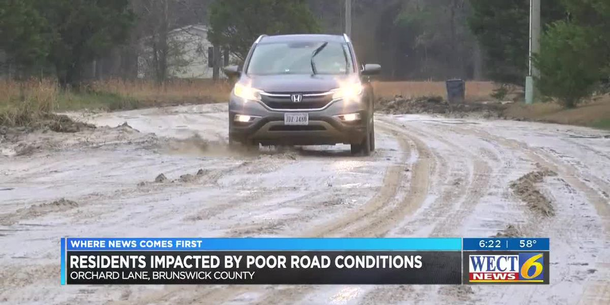 Neighborhood in Brunswick Co. isolated by travel trouble when it rains