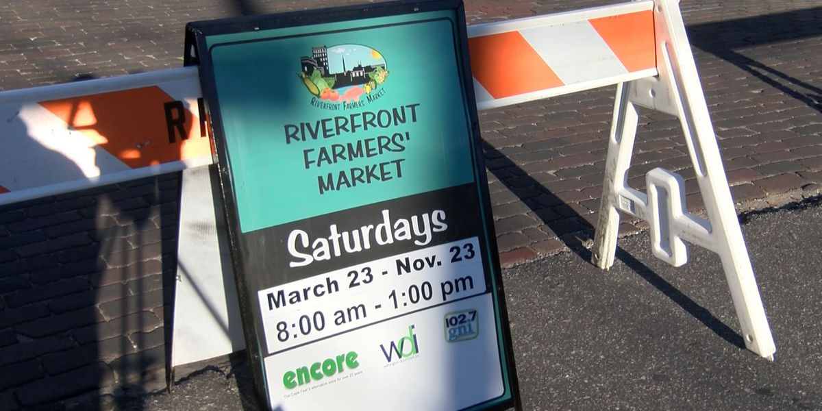 Riverfront Farmers' Market opens for first day of the season