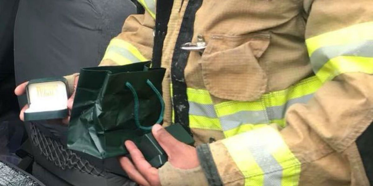 A husband's final gift: Diamond ring lost and found after deadly crash