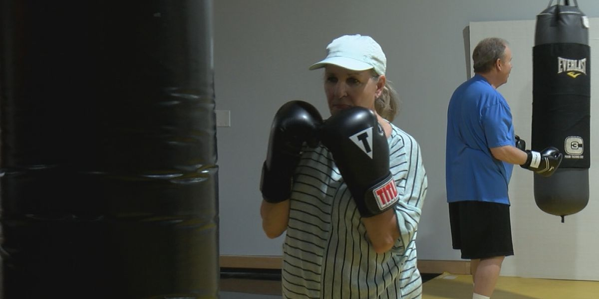 Wilmington boxing class leads the fight against Parkinson's Disease