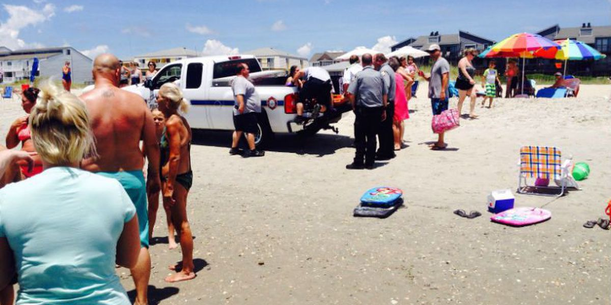 13-year-old injured in possible shark attack at Ocean Isle Beach