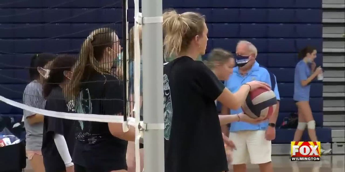 Mask mandate for Volleyball and other indoor teams begins Monday
