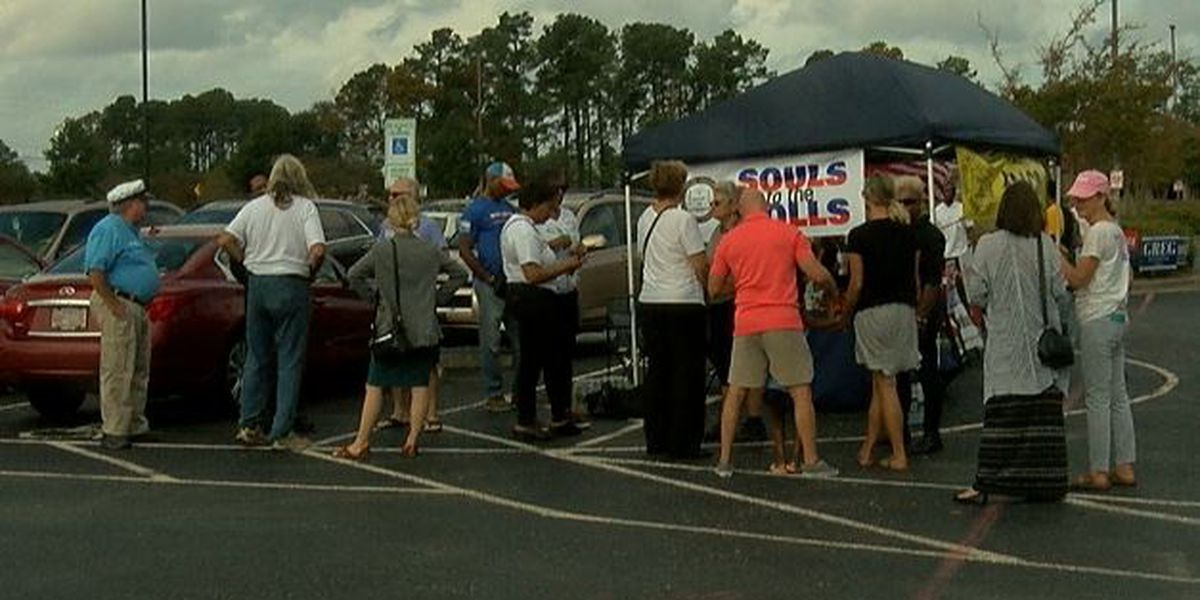 NAACP hosts Souls to the Polls for early voting on Sunday