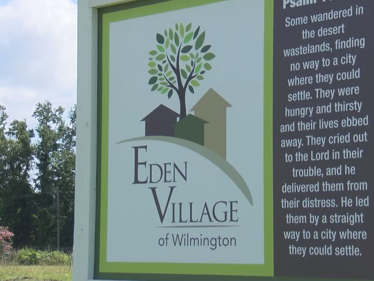 New tiny home community for chronically homeless in Wilmington
