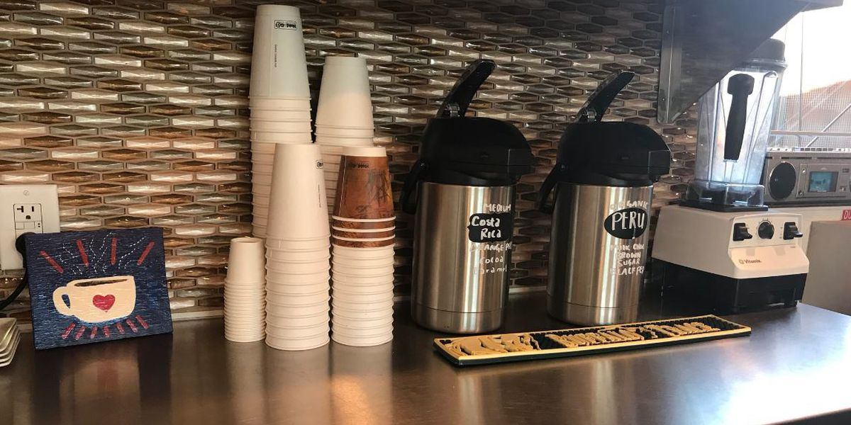 Coffee lovers take a tour of the city