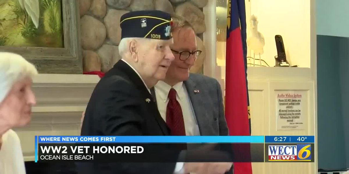 World War Two Vet Honored in Brunswick County