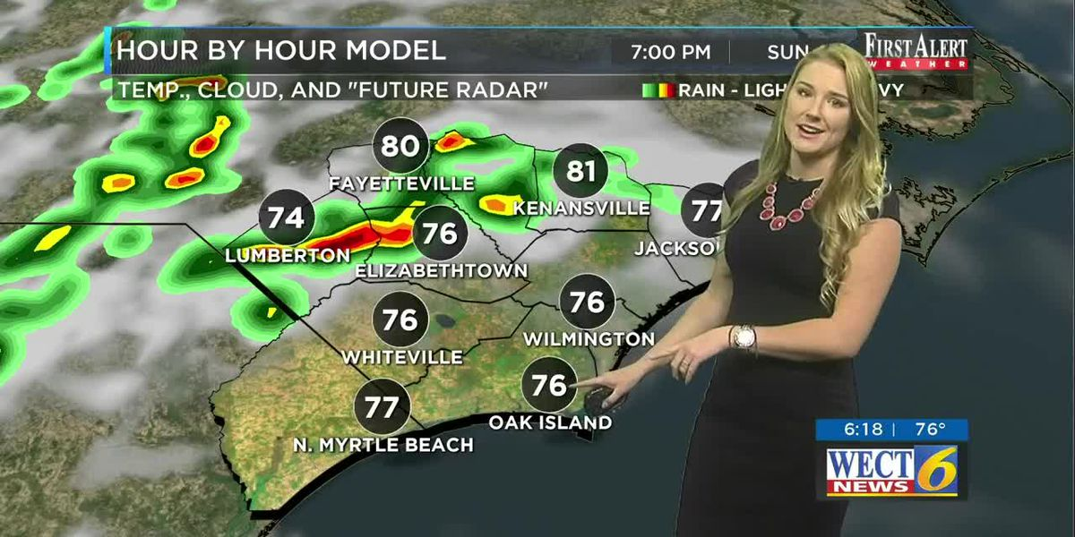 Your First Alert Forecast from Sat. evening on May 24, 2020