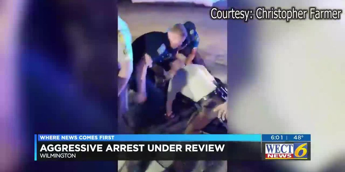 VIDEO: Aggressive arrest under review