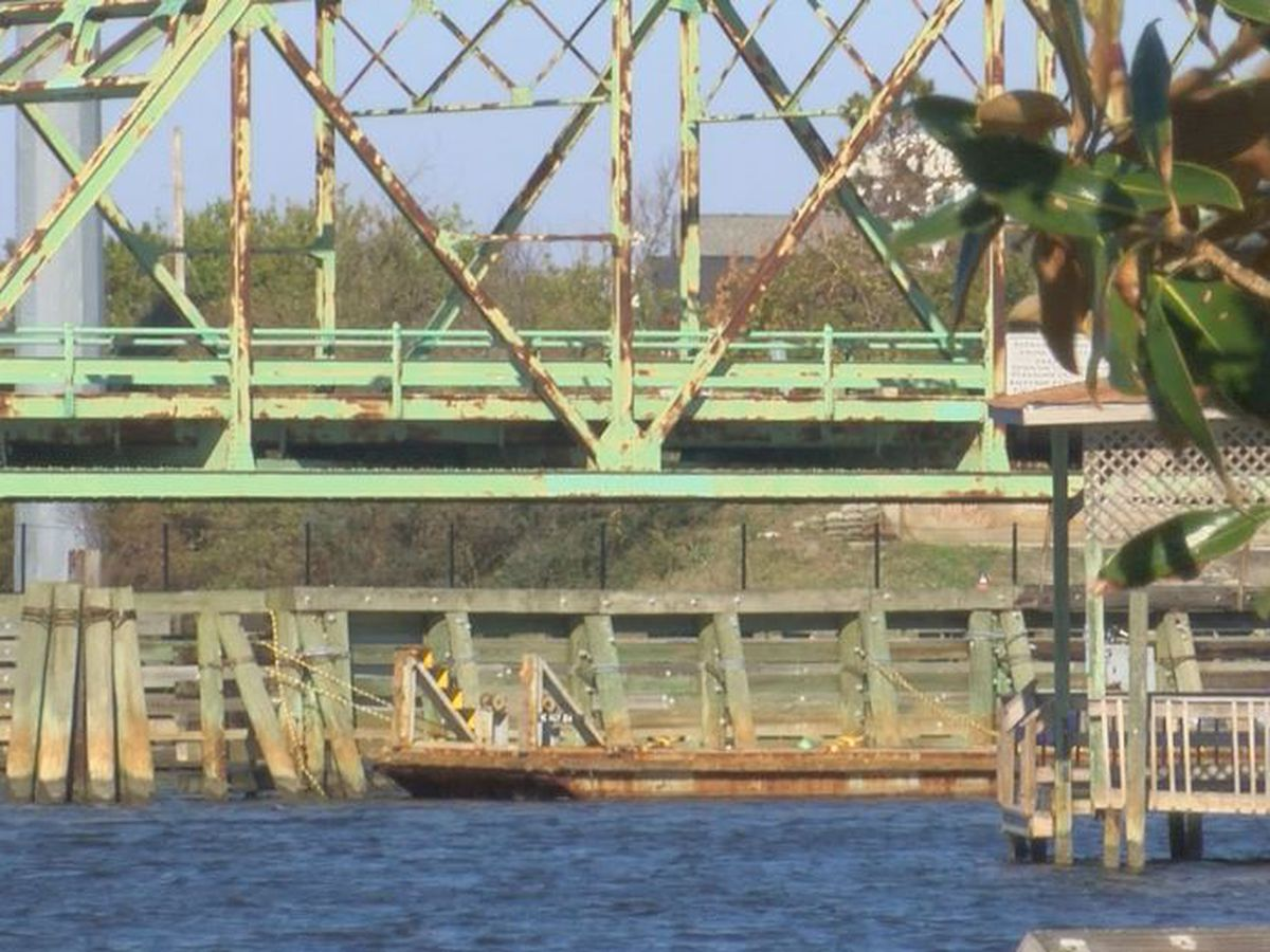 Surf City Swing Bridge should be removed by March