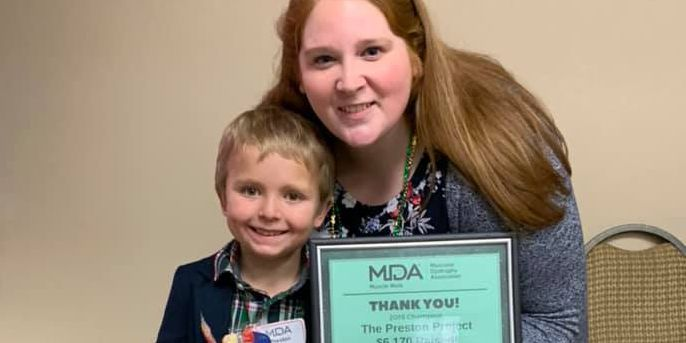 Seven year old raises more than $19,000 for MDA