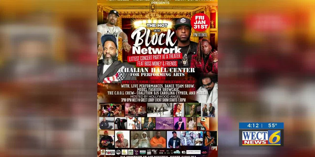 Concert event brings together rap and R&B artists
