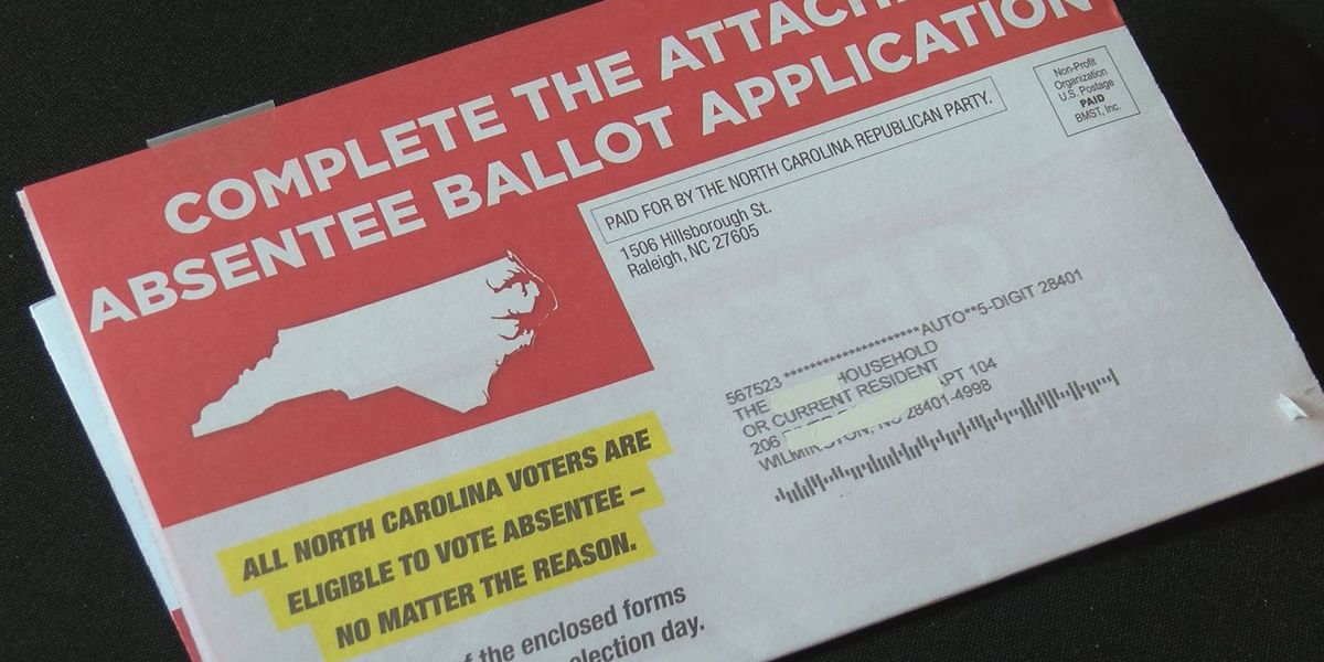 Voters express concern over absentee flyer as state sees surge in mail ballot requests
