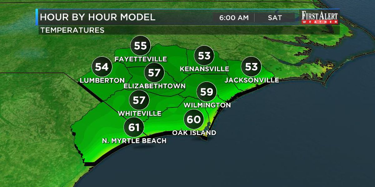 First Alert Forecast: obscenely low humidity Friday and Saturday