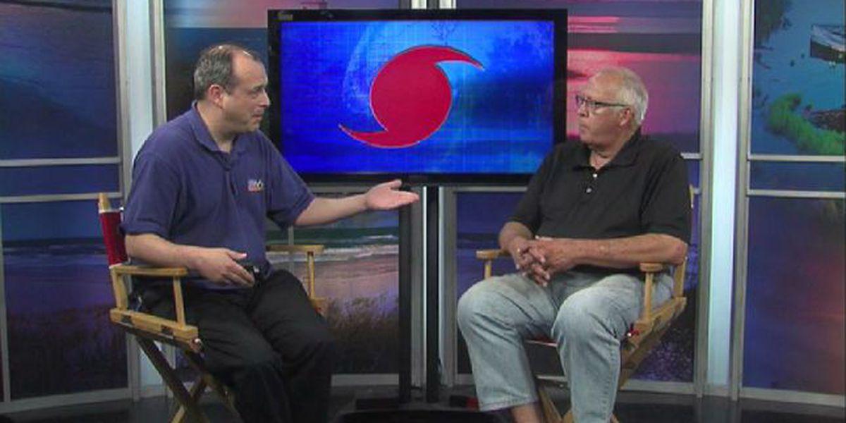 Bob Townsend looks back at Hurricane Bertha and Fran