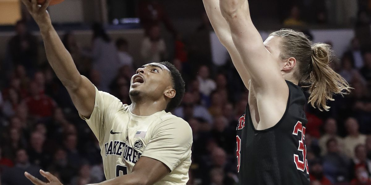 Wake Forest blows big lead, holds on to top No. 17 NC State