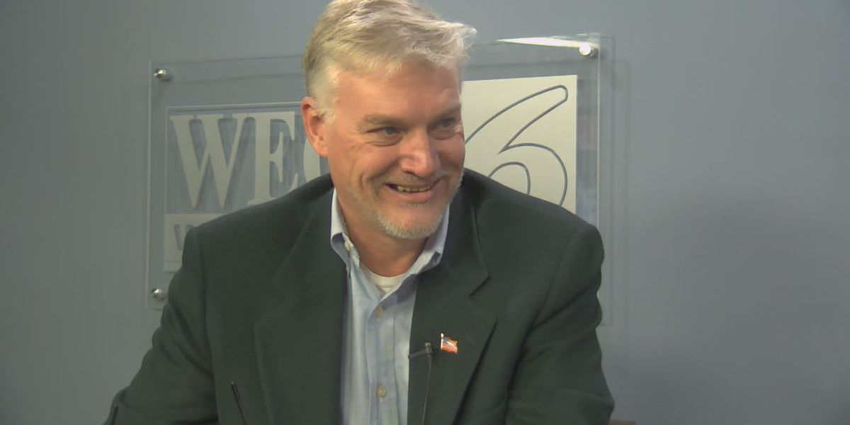 Meet Harry Knight, a candidate in the republican primary for a seat on the New Hanover County Board of Commissioners.