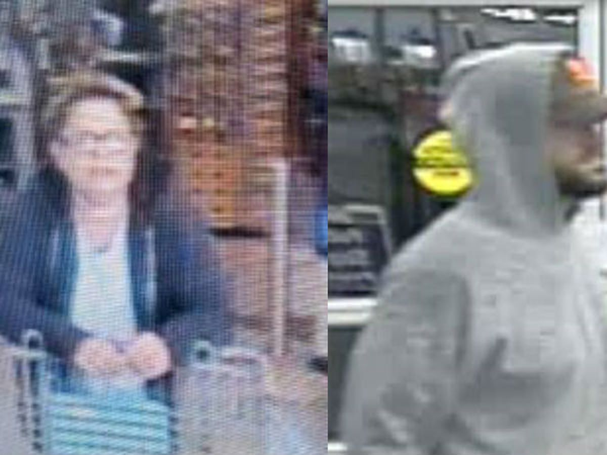Sheriff's office asks for public's help in identifying suspects in separate Walmart incidents