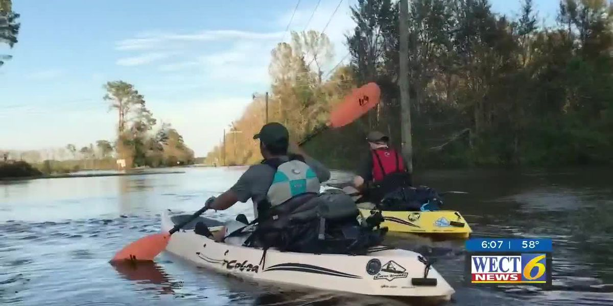 Friendship forms after Hurricane Florence